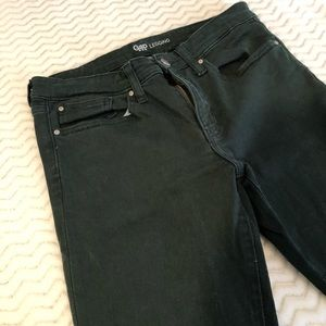 Hunter Green Gap 5 Pocket Denim